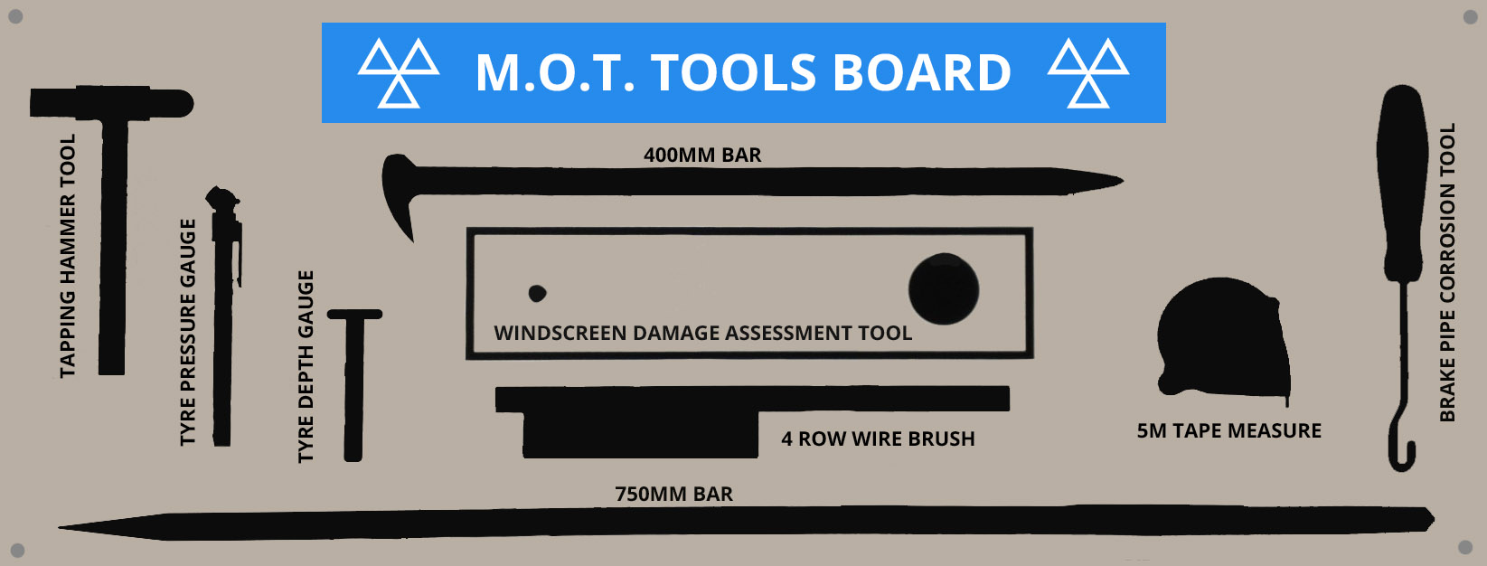 MOT Tools and Equipment – Preparing for a site visit