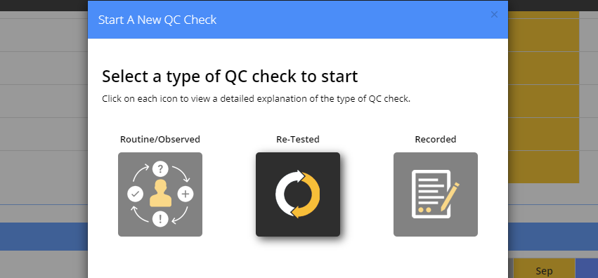 MOT QC check template update