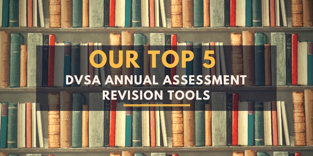 DVSA Annual Assessment 2020-21 Our Top 5 Revision Tools