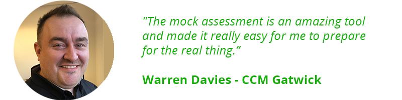 Warren Davies Testimonial