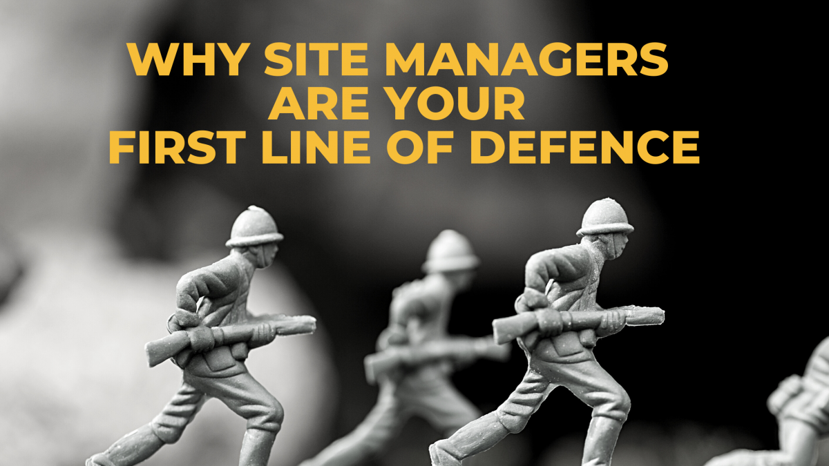 Why MOT Site Managers are your First Line of Defence