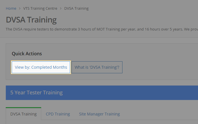 how to change training view in mot juice